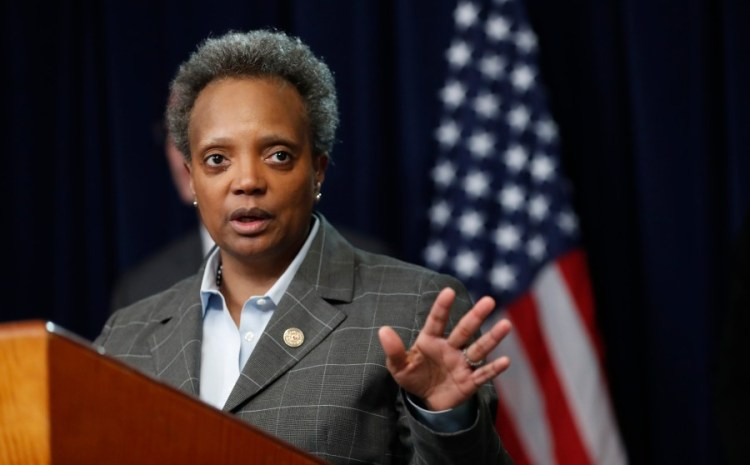 Mayor Lori Lightfoot Calls on the People of Chicago to Snitch on Federal Agents Ordered to Her City to Drive Down Violent Crime