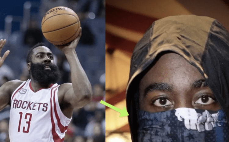 NBA Star Turns Heads Over 'Controversial' Face Mask [PHOTO]