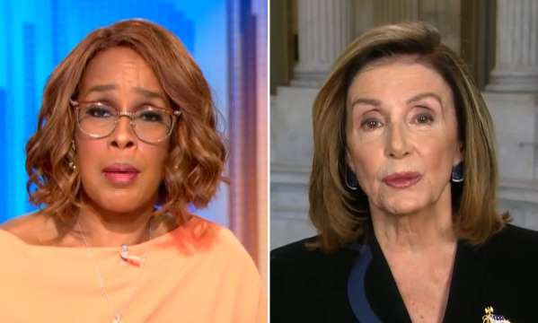 "The Left ""Cancels"" Oprah's Bestie CBS Anchor Gayle King After She Calls Out Pelosi"