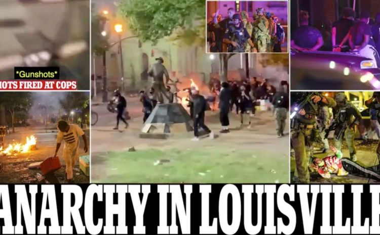 2 Louisville Cops Shot During Clashes Between BLM Mob And Police After Breonna Taylor Decision