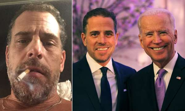 "JUST IN: Hunter Biden Plays Victim After He's Accused of ""Walking Around Naked Watching Porn Masturbating and Doing Drugs"" in Front of a Minor"