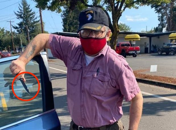 """WATCH: Dem Official Pulls Knife On """"Women for Trump"""" Supporters In Portland"""