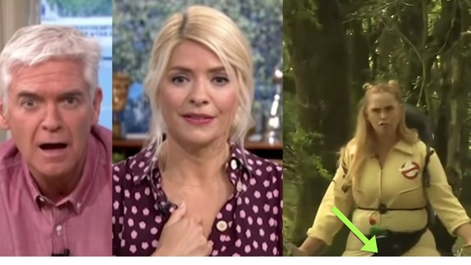 TV Host Awkwardly Points Out Colleague's Wardrobe Malfunction During Live Broadcast