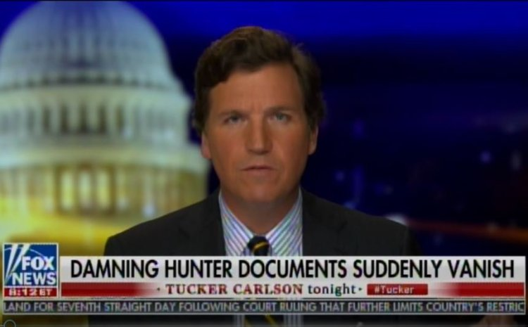 BREAKING: Tucker Carlson Tells Viewers a Package with Biden Documents Sent By His Producer from NY to LA Went Missing in the Mail — Says They Kept Copies