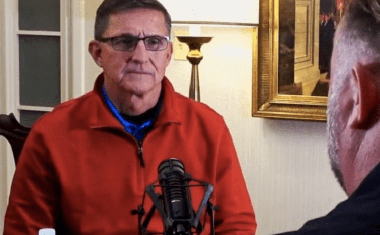 """General Flynn Confidently States: """"Trump Will Be President The Next 4 Years"""" [WATCH]"""