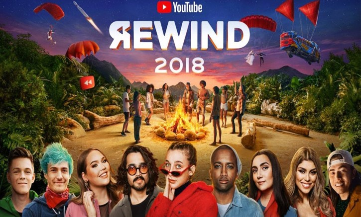 Youtube 2018 Rewind Video