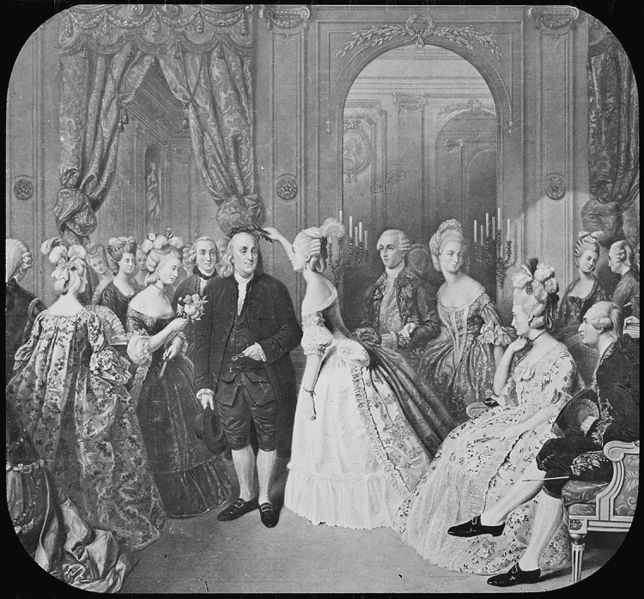 644px-Benjamin_Franklin_at_the_Court_of_France_-_NARA_-_518217
