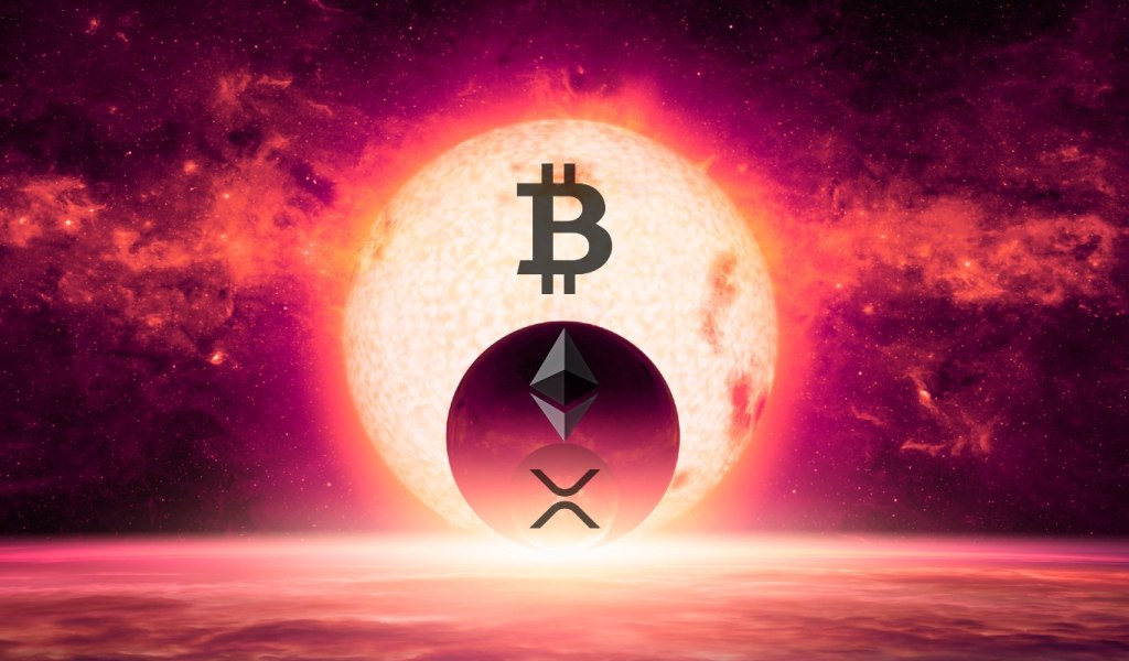 Top Trader Unveils Bullish Targets for Bitcoin, Ethereum, XRP, Chainlink, and 1inch