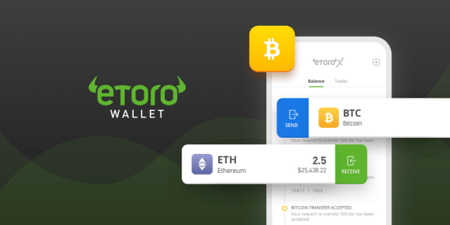 eToro Trading Platform Releases A Cryptocurrency Wallet