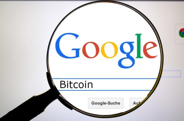Google's search for bitcoin
