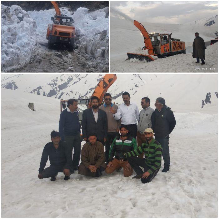 84کلو میٹر لمبے تواریخی مغل روڑ سے برف ہٹانے کا کام مکمل ۔۔۔۔