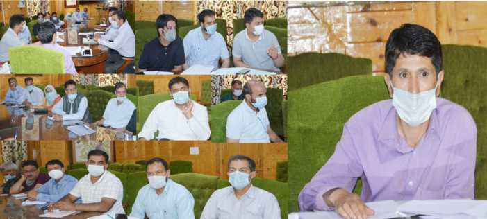 ADC Shopian reviews functioning of revenue department.