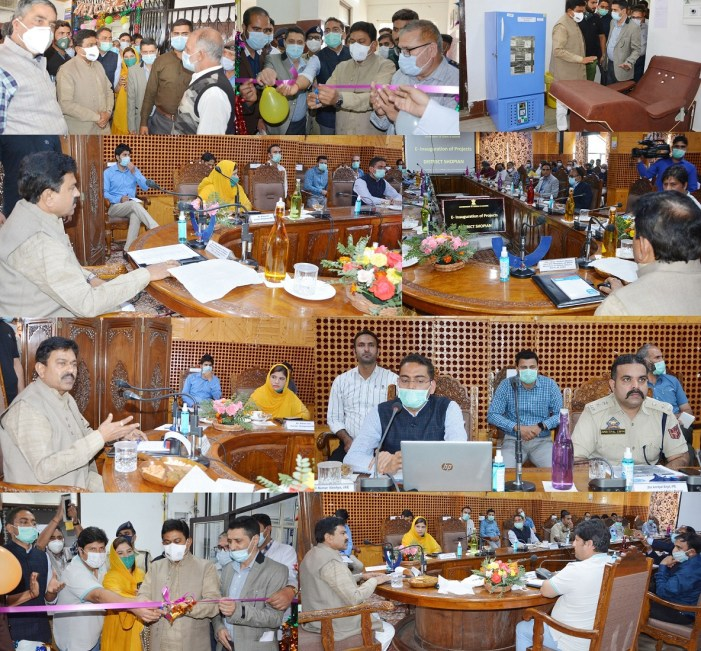 Union MoS Home Ajay Mishra visits Shopian, Inaugurates Several Projects