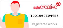 SafeCreative Registered works #1001060104485