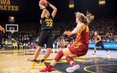 Doyle leads Hawkeyes over Cyclones in surprise return