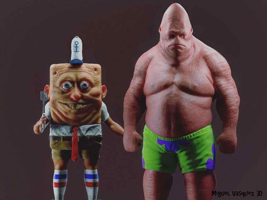 What If Spongebob and Patrick Were Real
