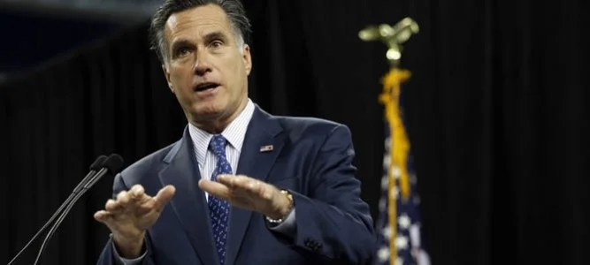 Mitt Romney - Pictufre courtesy Huffingtonpost.com