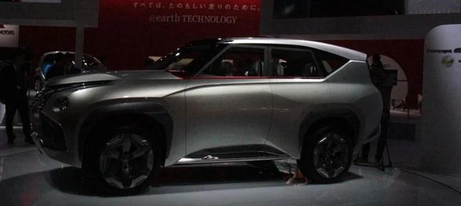 Mitsubishi's Concept GC-PHEV- Picture courtesy Bertel Schmitt