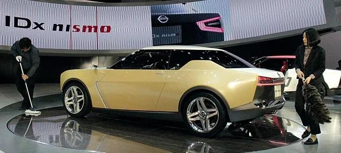 Nissan IDx Freeflow - Picture courtesy Bertel Schmitt