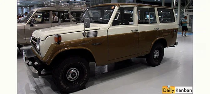 Land Cruiser 55 Series FJ56V 1955-1960