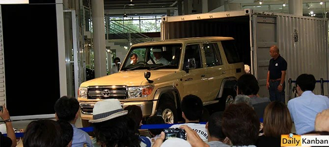 Land Cruiser 70 special edition - picture courtesy Bertel Schmitt