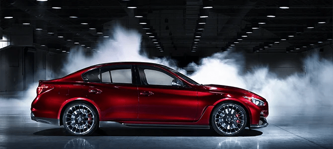 Clouded in mystery: The Infiniti Q50 Eau Rouge