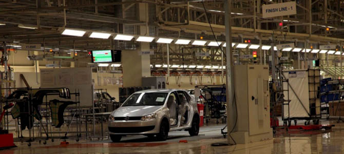 Volkswagen's new penal colony: The plant in Pune, India