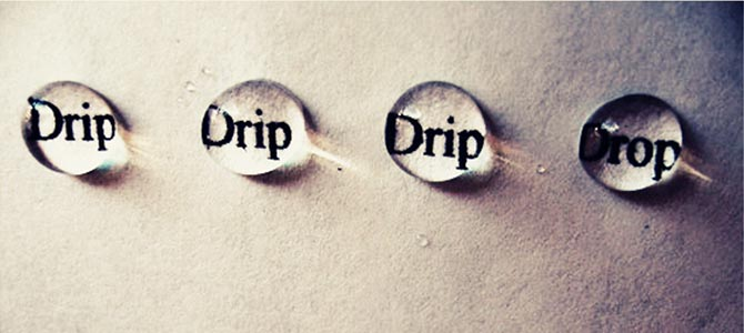 drip-drop - Picture courtesy jewishbusinessnews.com