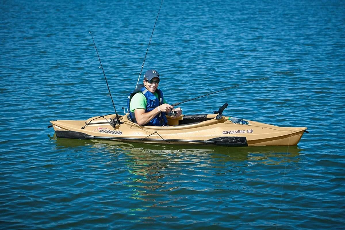 Sun Dolphin Excursion Fishing Kayak