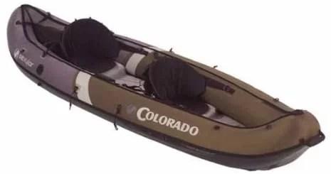 Sevylor Inflatable Colorado Hunting and Fishing Kayak