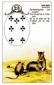 23 mice lenormand
