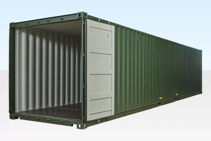 40 foot shipping containr Daily Logistics