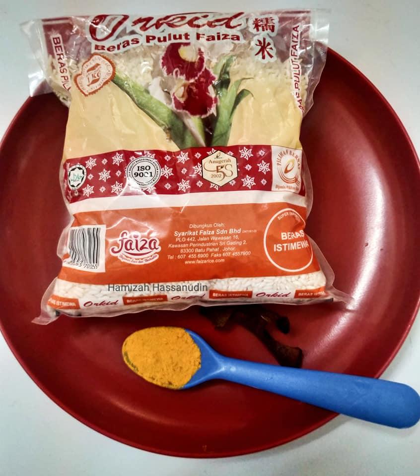 resepi pulut kuning semudah abc setiap  buat confirm licin daily makan Resepi Kek Guna Noxxa Enak dan Mudah