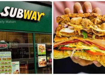 tips order sandwich subway supaya sedap