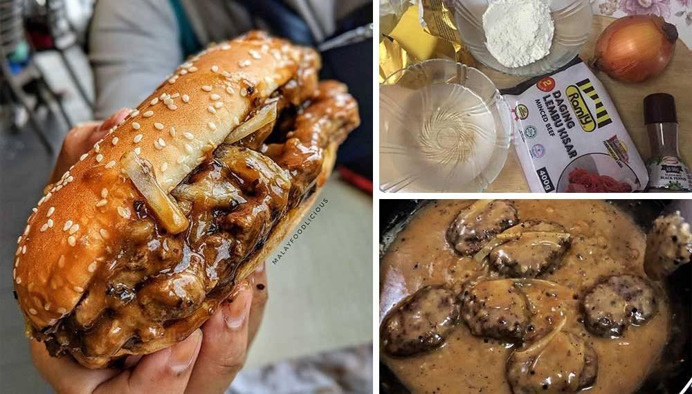 burger prosperity homemade ala McD