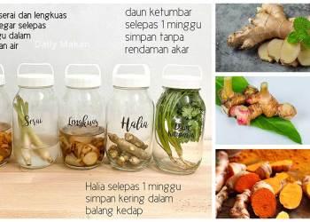 tips simpan sayur