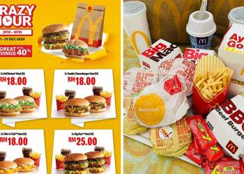 McDelivery Crazy Hour