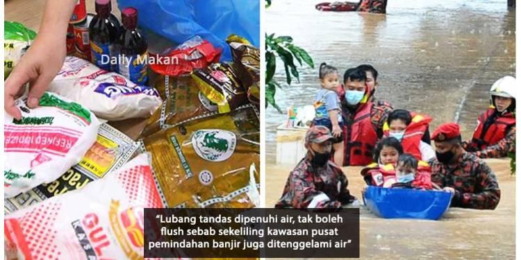 makanan bukan pilihan musim banjir