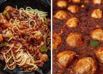 Spaghetti Bolognese Versi Pedas