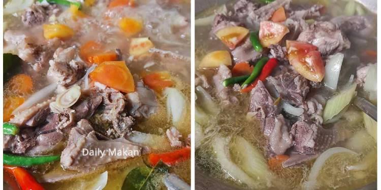 resepi sup ayam ala thai
