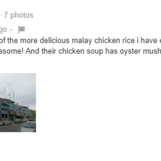 Nasi Ayam Ali