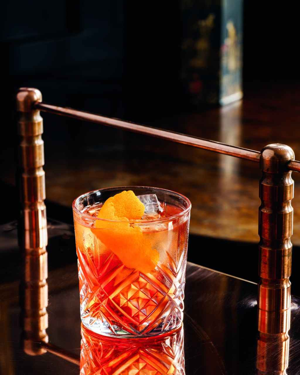 cold wood red alcohol