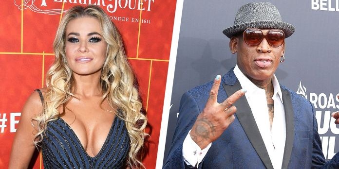 Carmen Electra reveals she and Dennis Rodman had sex 'all over' the Chicago Bulls' practice facility