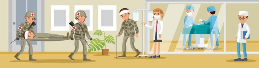 medical fields in the military