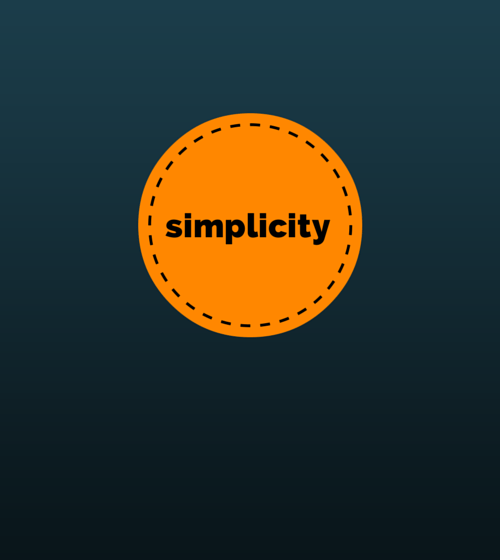 With Simplicity You Can See at DailyMeditate.com