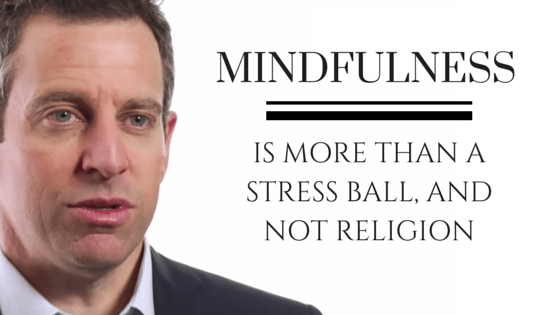 Mindfulness: More Than A Stress Ball, And Not Religion