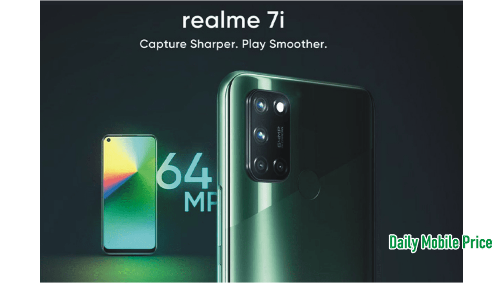 Realmi 7i coming to pakistan