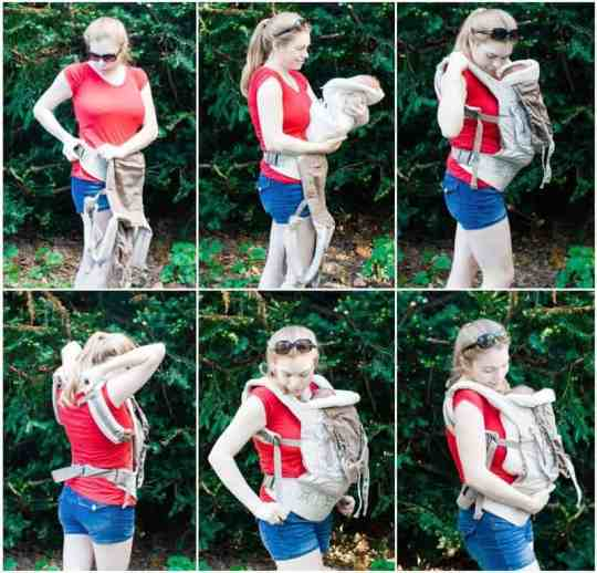 Carrier Guide Ergobaby Organic Structured Carrier 187 Daily Mom