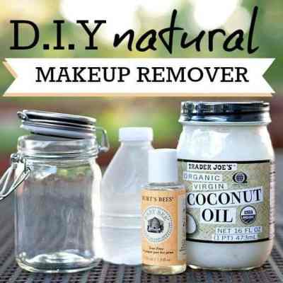 DIY makeup removing wipes