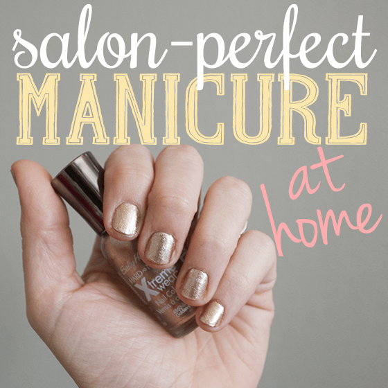 Nails Perfect Home: Salon Perfect Manicure At Home » Daily Mom
